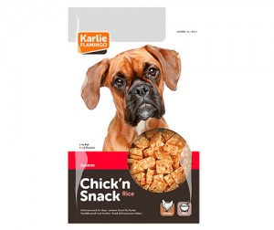 Chick'n snack ch&ri bites mini 85g